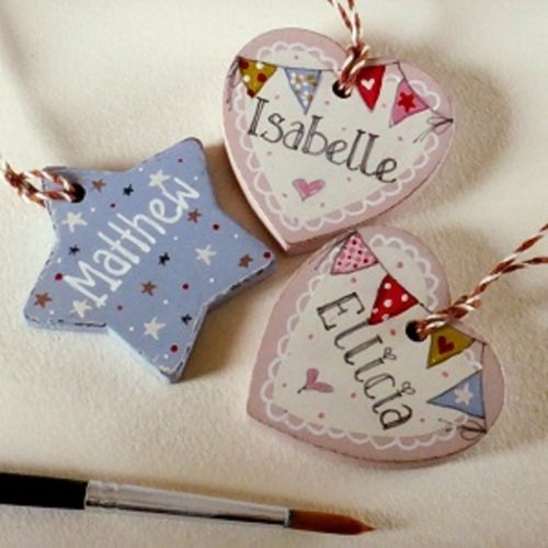 Little Wooden Tags