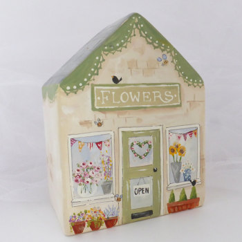 Flower shop money box