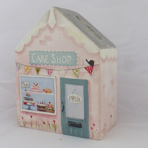 Cake shop money box