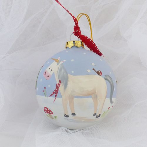 Unicorn Heirloom bauble