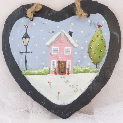 heart slate # 11