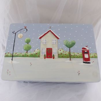 **2018**Heirloom Cottage Keepsake Box, medium