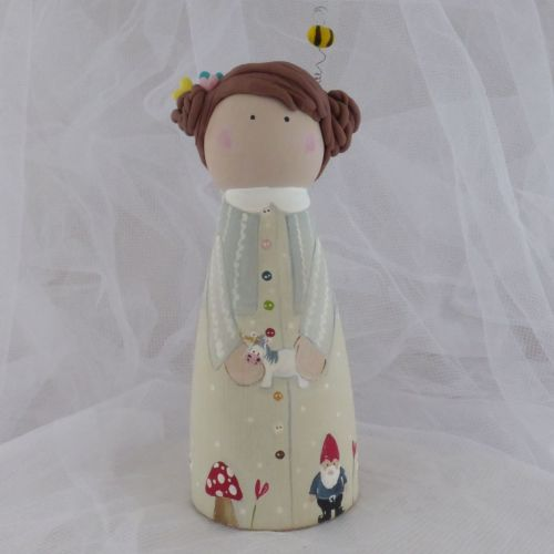 'Fairytale' 12 cm tall 'peg' person