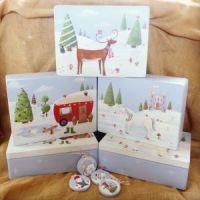 **2018**Heirloom Christmas Box, medium