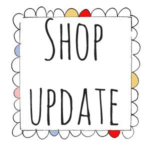 shop update sign