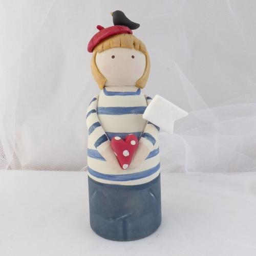 peg person - breton blue