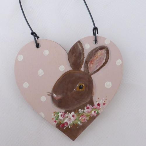 bunny heart mini #1