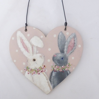bunny heart large #1