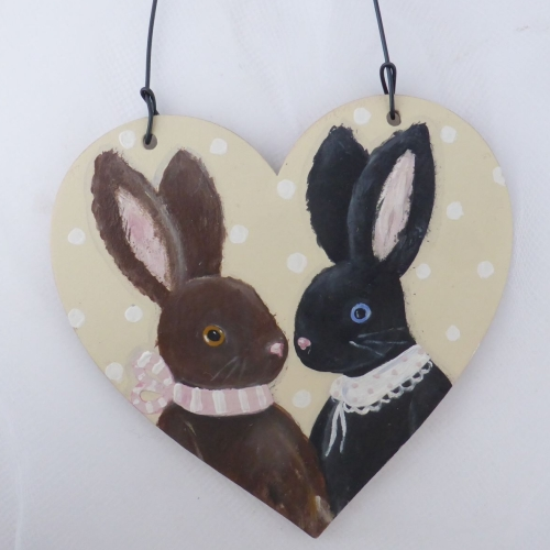 bunny heart large #2