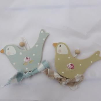 pair of bird dangles
