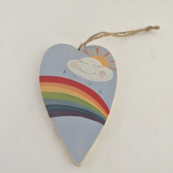 Rainbow Heart (primitive shape)