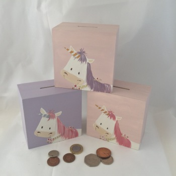 money box - unicorn