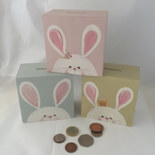 money box - bunny