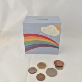 money box - rainbow