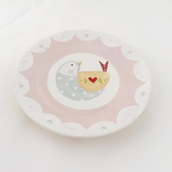 mini wooden plates #1