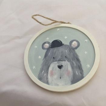 bear bowler hat