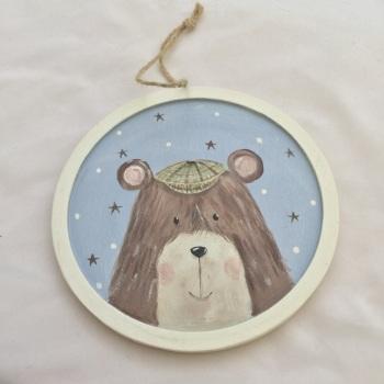 bear flat cap