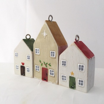tiny house trio set Christmas