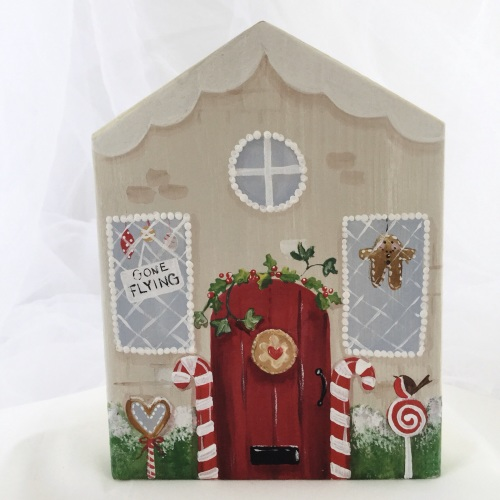 painted house - christmas
