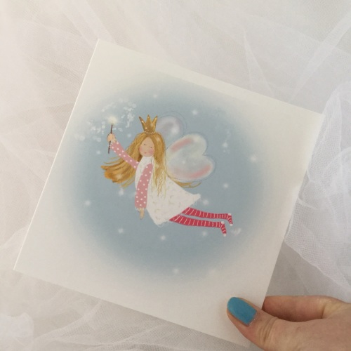 greeting card - fairy
