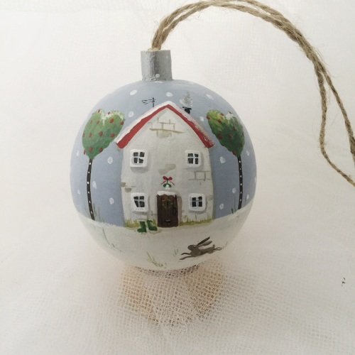 bauble house and hare