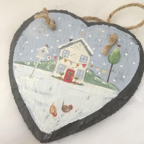 heart slate #2