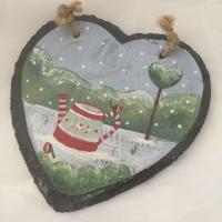 heart slate #9