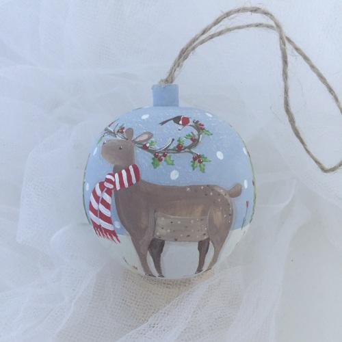 bauble reindeer