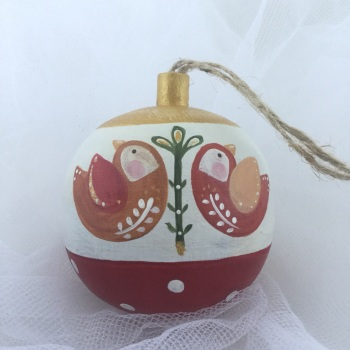 bauble folk birds