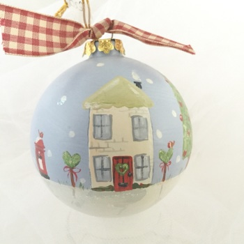 bauble (house and post box)