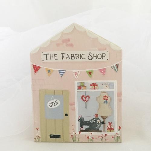 house (fabric shop)