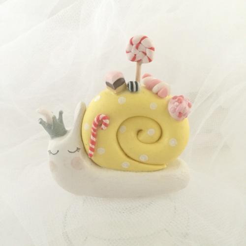 snail (sweetie, yellow)