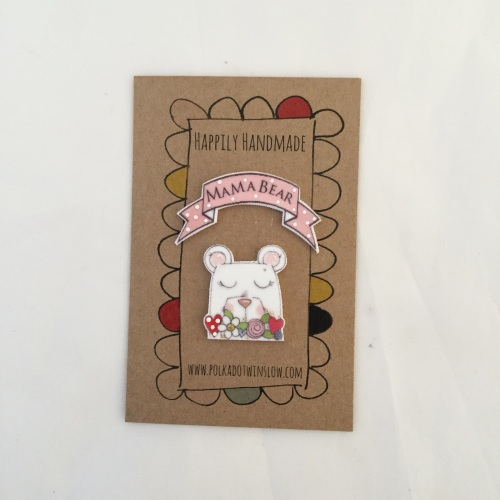 mama bear pin duo