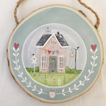 house painting - birdhouse