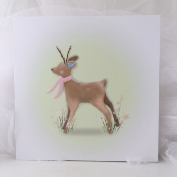 Print - Fawn, pink