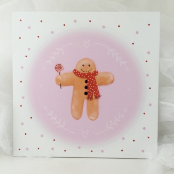 Print - Gingerbread man