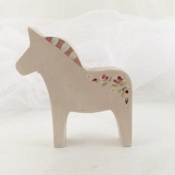 small horse - rosie garland, pink