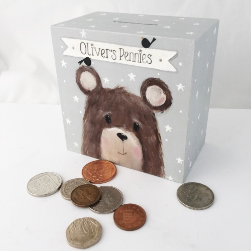 money box - bear