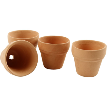 Tiny flower pot x12