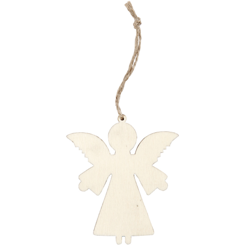 Angel decoration pack of 4