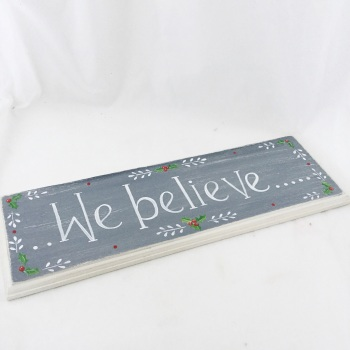 30cm signs - holly,  choose your own wording.