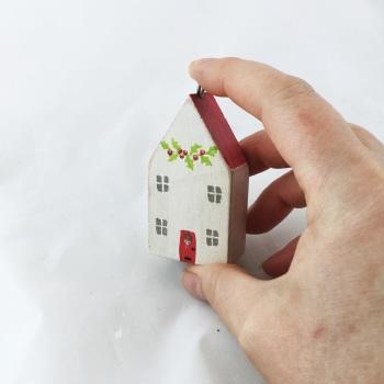 tiny christmas house