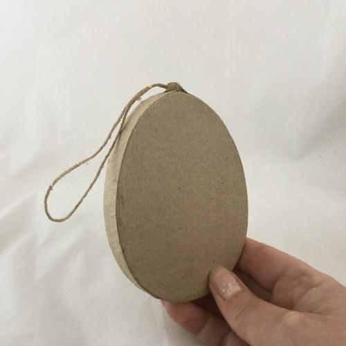 papier mache egg shape (x1)