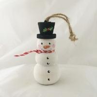 Snowman dangles