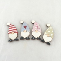 Tomte/gonk/gnome  Brooch - choice of colours