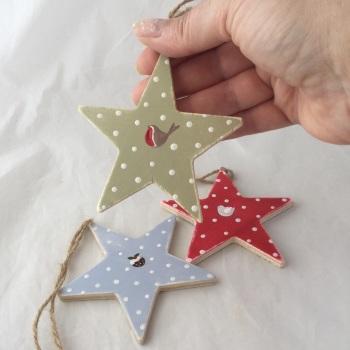 Trio of star dangles