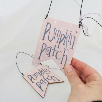 Pink Pennant sign