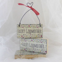 "Mini ""Fairy Godmother"" sign"