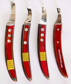 Jim Blurton Drop Blade Knife