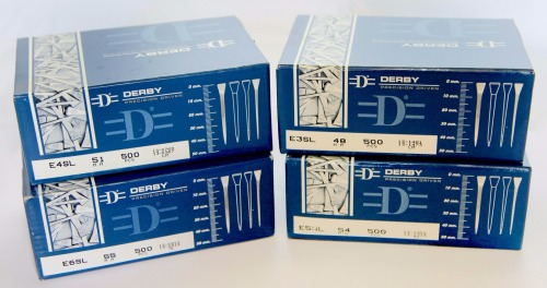 Derby E4 Long (Box of 500)